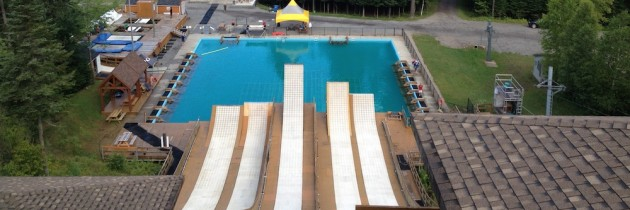 VIDEO – Summer training at Quebec Water Ramps